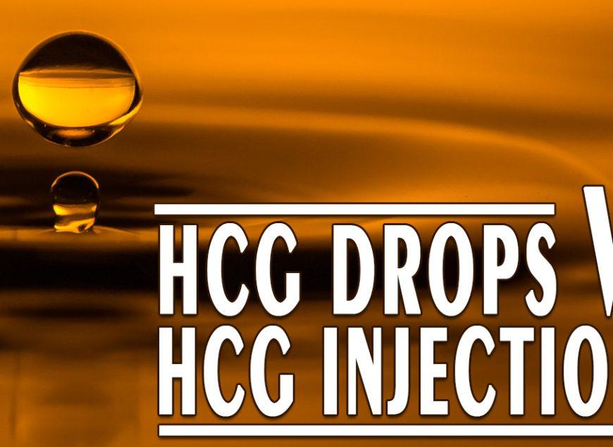 HCG Drops vs HCG Injections
