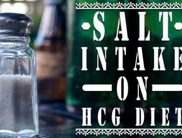 Salt Intake on HCG Diet