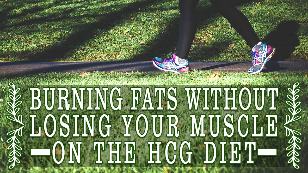 Burning Fats without Losing Your Muscle on the HCG Diet