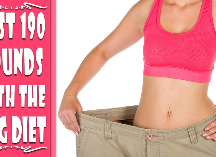 Lost 190 pounds with the HCG Diet