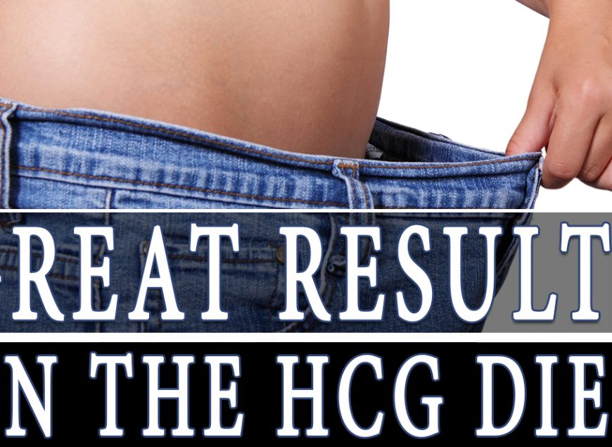 Great Results on the HCG Diet