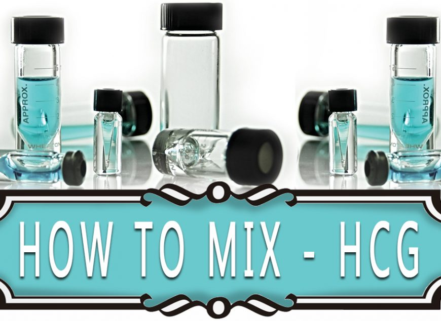 How to Mix - HCG