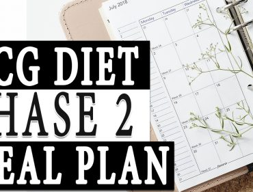 HCG Diet Phase 2 Meal Plan
