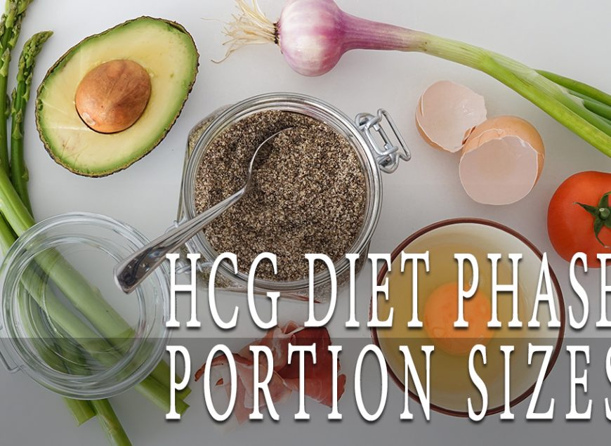 HCG Diet Phase 2 Portion Sizes