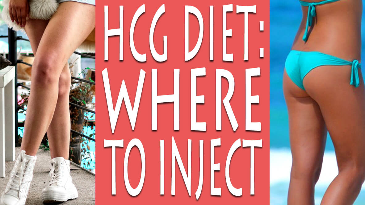 HCG Diet Where to Inject