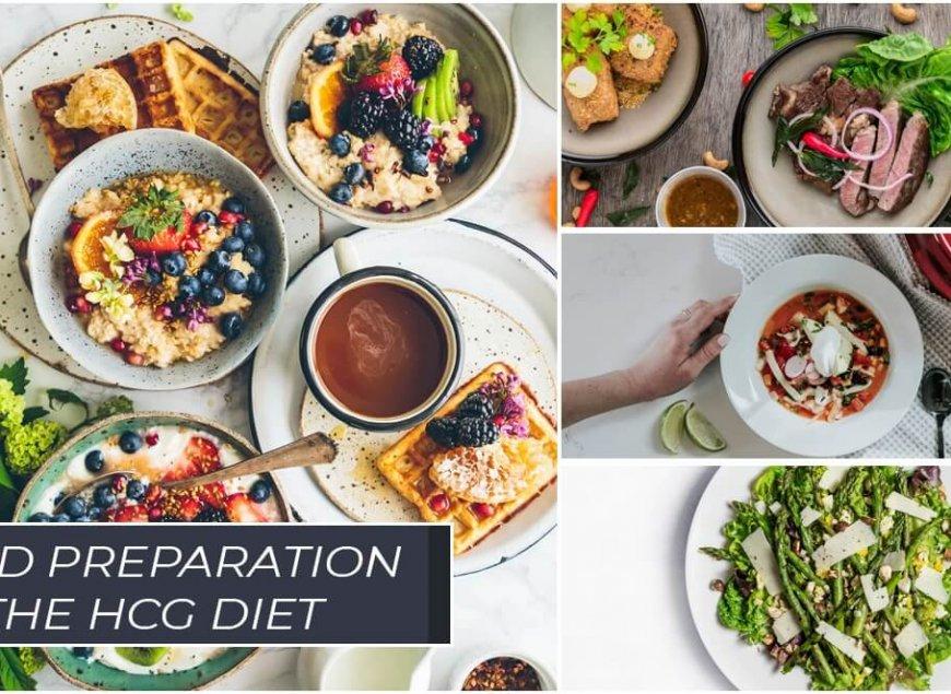 Food preparation on the HCG Diet