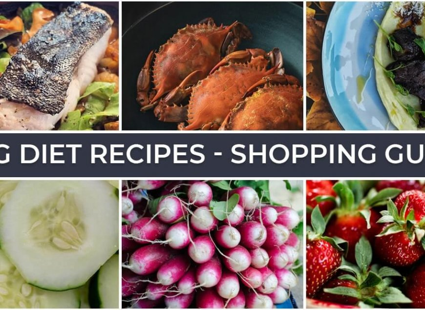 HCG Diet Recipes - Shopping Guide