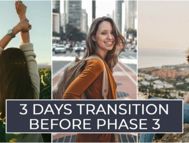 3 Days Transition before Phase 3