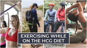 Exercising While on the HCG Diet