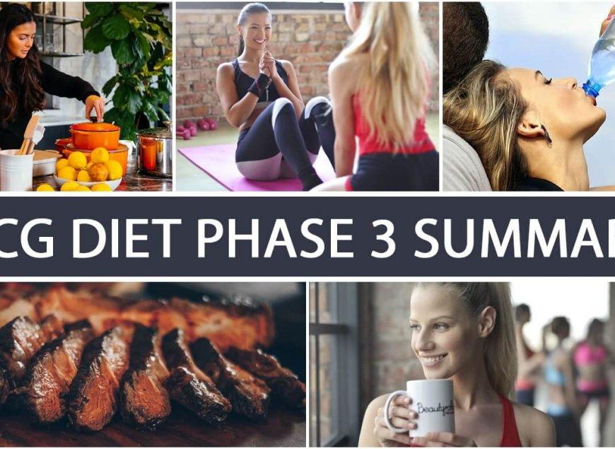 HCG Diet Phase 3 Summary