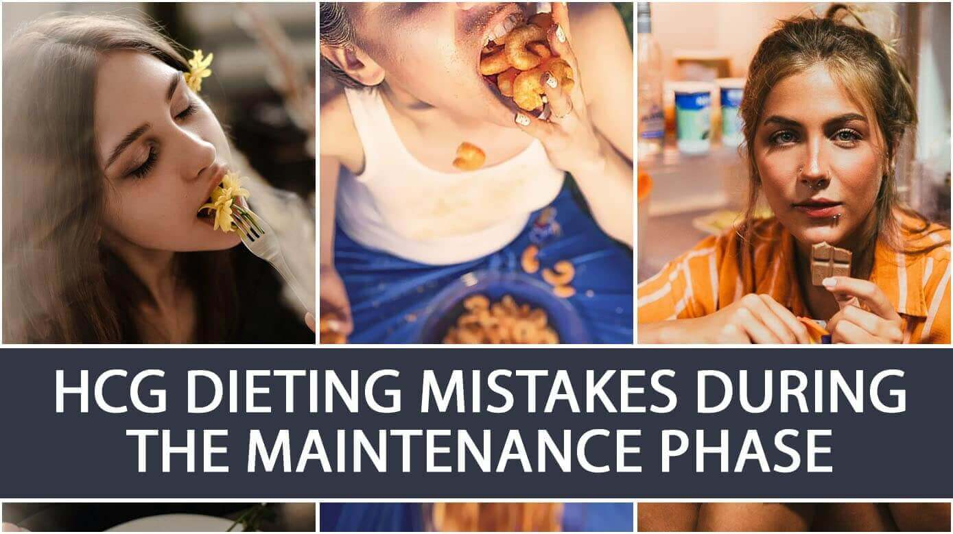 HCG Dieting Mistakes during the Maintenance Phase