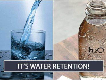 It's Water Retention!