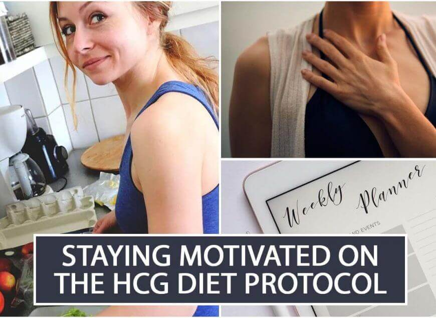 Staying Motivated on the HCG Diet Protocol