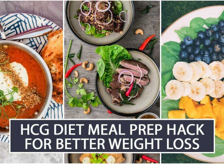 HCG Diet Meal Prep Hack for Better Weight Loss