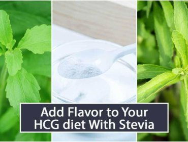 Add Flavor to Your HCG diet With Stevia