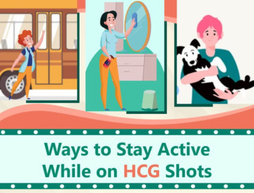 Ways to Stay Active While on HCG Shots