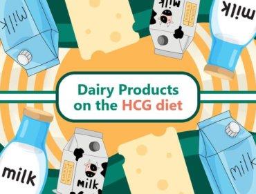 DairyProductsontheHCGdiet